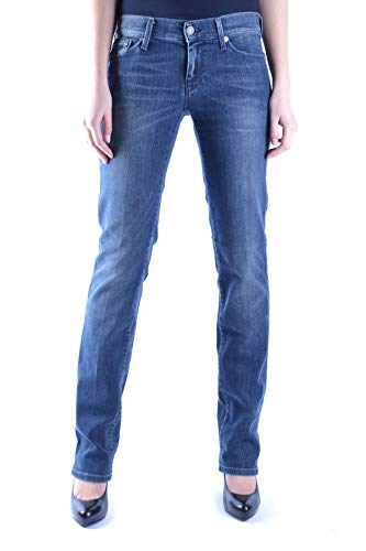7 For All Mankind Luxury Fashion Damen MCBI13236 Blau Jeans | Jahreszeit Outlet
