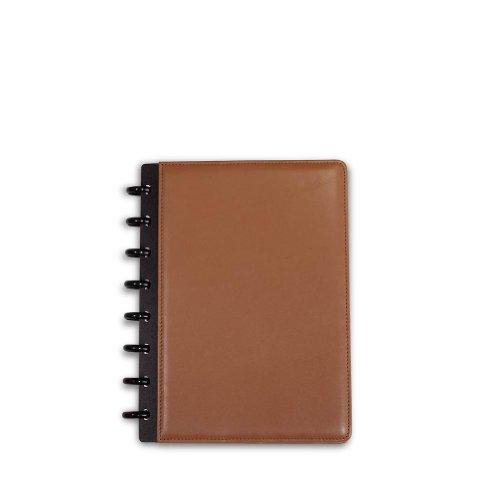 Levenger circa Leder Foldover Notebook, Junior, Sattel (al8390SA Junior Nm) -