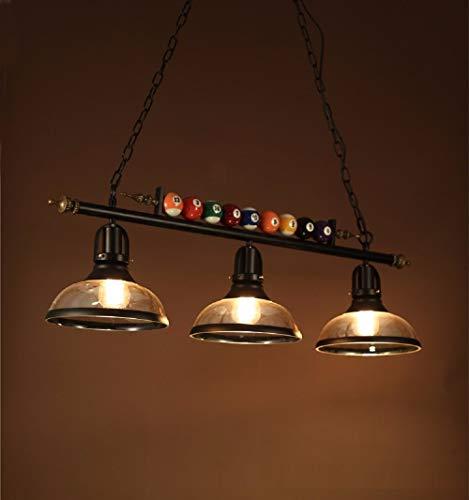 L Yang Billard Dekor 1/2/3 Lichter Kronleuchter für Billard Halle, Restaurant, Cafe, Bar, Club, Schlafzimmer Beleuchtung, nordischen Stil - Billard 2 Licht