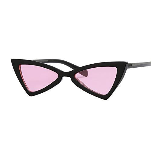 JYTDSA Schmetterlings-Schwarze Sonnenbrille-Frauen-Blaue Mode-Sonnenbrille für weiblichen modischen abgetönten Farbton UV400