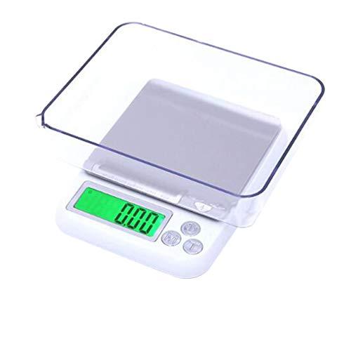 Bilance da cucina digitale, bilance elettroniche da cucina per casa, precisione accurata fino a 6 kg, liquidi plus in ml e fl. oz.