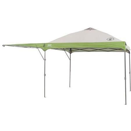 Coleman 10'x 10' Instant Gerades Bein Outdoor Heckklappe Baldachin/Pavillon mit zusätzlichen Swing Wand (Coleman Metall)