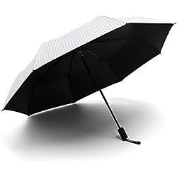 Eastery Parasol Femme Parasol Parasol Easy Sun Rain Parasol Bivalent Protection Simple Style UV Parapluies Imperméables (Color : Colour, Size : One Size)