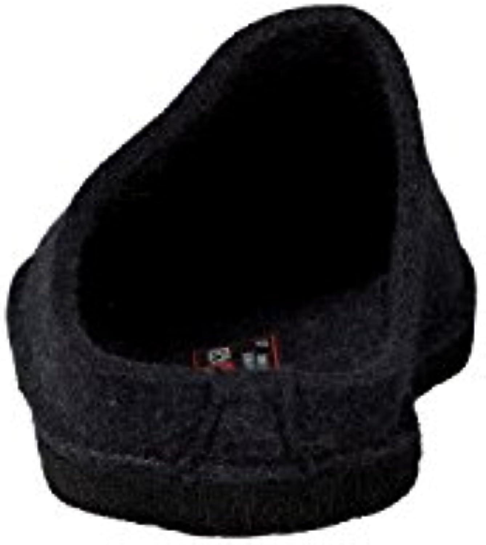 Haflinger - Zapatillas de estar por casa para hombre, color gris, talla 6 UK