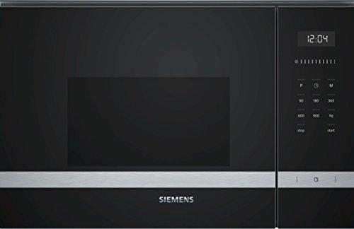 Siemens iQ500 BF555LMS0 micro-onde Intégré - Micro-ondes (Intégré, Micro-ondes uniquement, 25 L, 900 W, Tactil, Noir)