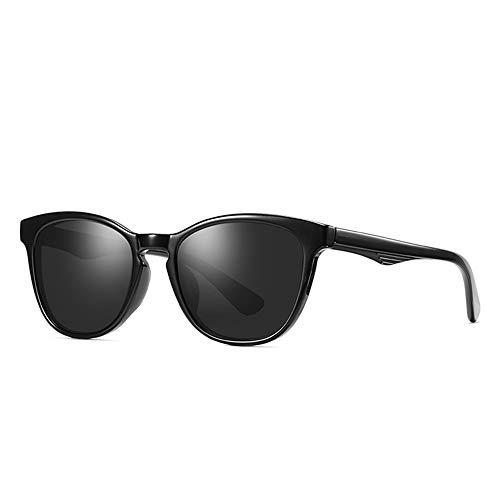 Sxuefang Sonnenbrillen Damen-Sonnenbrille Mode Lady Cat Eye polarisierte Sonnenbrille 1: 1 TAC HD-Objektiv Einzigartiger Rahmen Cat Eye Sun Glasses UV400