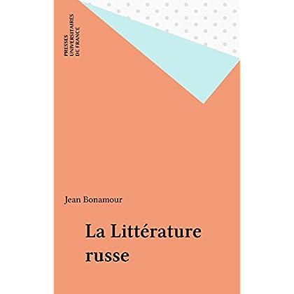 La Littérature russe (Que sais-je ? t. 290)