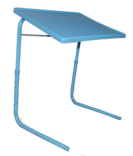 Click2Buy Table Mate Adjustable Folding Kids Mate Home Office Reading Writing Blue Normal Tablemate Portable Laptop Table  available at amazon for Rs.719