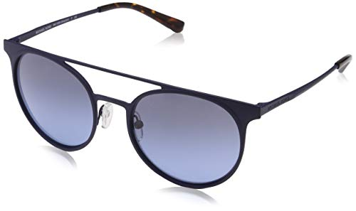 Michael Kors Damen GRAYTON 12178F 52 Sonnenbrille, Matte Navy/Greyblueegradient,