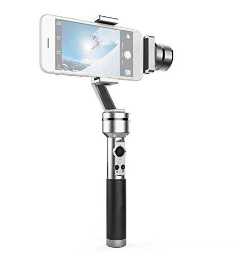 Preisvergleich Produktbild Gowe 3-Achsen-Handheld Griff Griff Gimbal Steady Kamera Stabilisator für GoPro Xiaomi Yi Action Kamera 3,5~ 15,2cm Display Smartphones