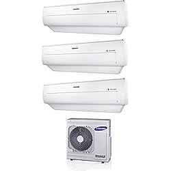 Climatizzatore 7000 + 7000 + 7000 Btu Trial Split Inverter con Pompa di calore Serie AR6000M