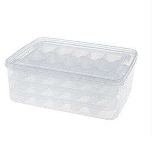 JAZS Boîte de décongélation pour micro-ondes Sous-grille Plateau pour boulettes de friture Boîte de rangement pour réfrigérateur résistant à l'humidité multi-usages