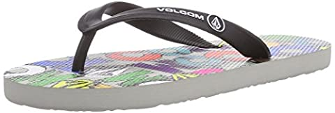 Volcom Boys' Rocker Creedlers By Flip Flop Sandles Gray Size: 4.5