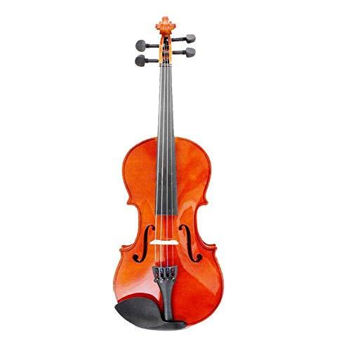 ZGHNAKGröße 3/4 Natur Violine Basswood Steel String Arbor Bow für Anfänger
