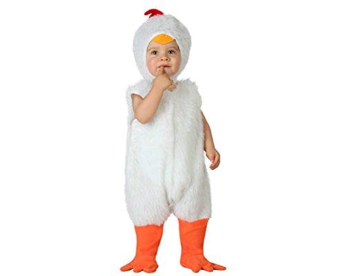 Atosa 23769 - Henne Kostüm, Größe 12-24 Monate, (Kostüm Henne)