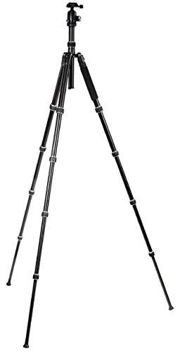 Lg Digital-camcorder (Foto / Video Premium Kamera Stativ - ultra kompakt + Tasche + Panoramakopf Set - Stativ Tripod Dreibein ! 148cm)