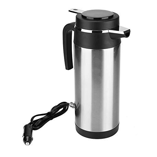 KIMISS 1200ML 12 V / 24 V Auto Wasserkocher Edelstahl Elektrische In-Car Wasserkocher Reise Trinkbecher Reise Kaffeetasse Wasserflasche(12V) ...