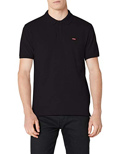 Levi's Herren Poloshirt HOUSEMARK Polo, Schwarz (Jet Black 5), Medium
