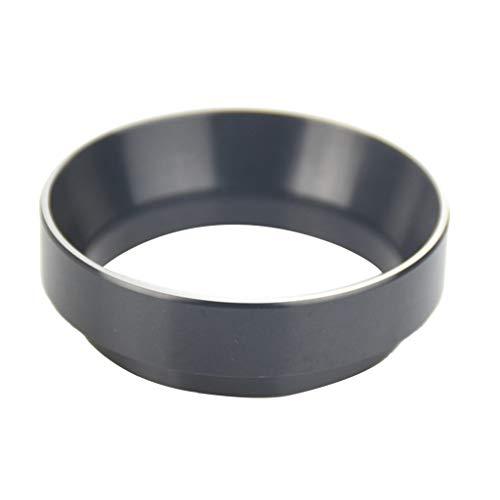 B blesiya intelligente dosatore anello barista strumento di ricambio del caffè in alluminio - nero
