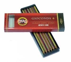 R-crayons-k5111 minenset gIOCONDA) 4380 métallique ! vom feinsten-lot de 6 lE câblage une grande qualité, de la marque koh-i-noor gIOCONDA !