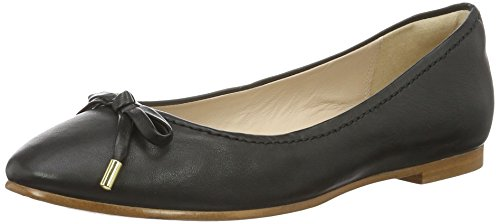 Clarks Grace Lily, Ballerine Donna, Nero (Black Leather), 36 EU