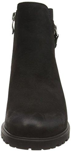 ara Mantova, Bottes de motard de hauteur moyenne, doublure froide femme Noir - Schwarz (schwarz -71)