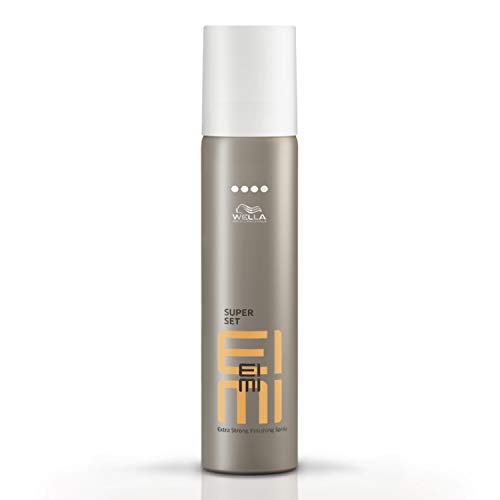 Finishing Spray Haarspray (Wella EIMI Super Set  Professionelles Haarspray,1er Pack (1 x 75 ml))