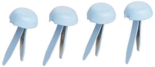 Doodlebug Design-mini-brad (Brads - Mini Doodlebug Designs Mini-Brads, Bubble Blue)