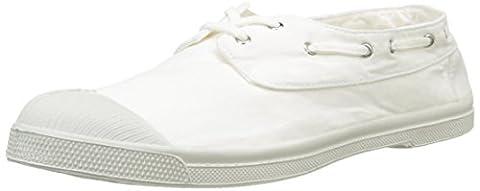 Bensimon Tennis Bateau Pat, Baskets Basses Homme, Blanc (Blanc), 44 EU