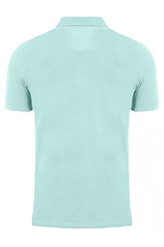 Tokyo Laundry Herren Poloshirt, Einfarbig Blau Blau Small Florenzi - Mint  Green ...