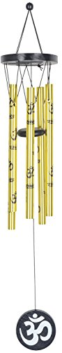 JPS Retail Metal Feng Shui Om Wind Chime (8 cm x 8 cm x 45 cm, JPSF367)  available at amazon for Rs.299
