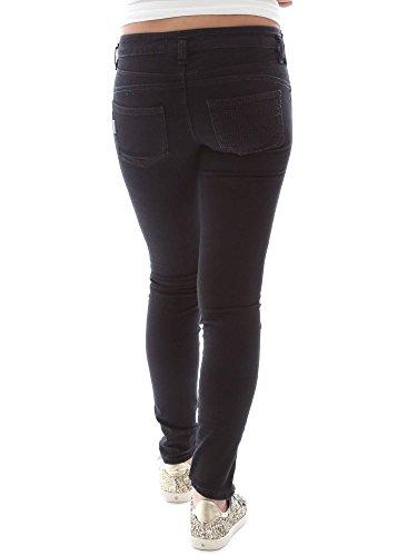 Fornarina BER1H27D719R62 Jeans Femmes Noir