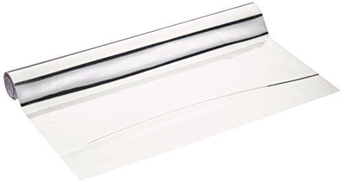 Wenko 5108013500 - Lámina espejo recortable, de plástico, 58 x 150 cm, color plateado