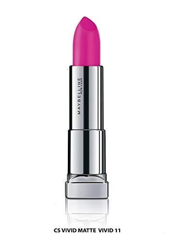 Glamorous Mart - Maybelline New York Farbe Sensational Lippen, Vivid Matte 8, 3,9 g