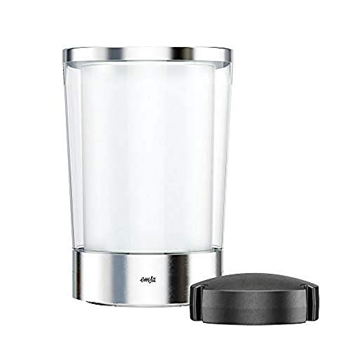 4you Design Flow Slim Flaschenkühler von Emsa mit Gravur - personalisiert mit Name - mit Kühlakku - Edelstahl - doppelwandiger Kunststoff - Geschenkidee für Sie & Ihn - Geburtstag