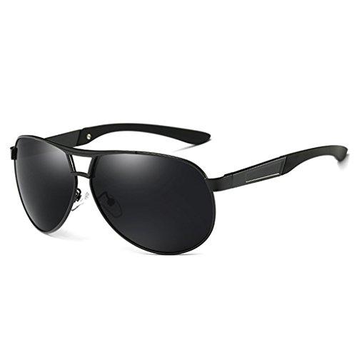 NAYUKY Blendungs   Barrier polarisiertem Licht Sunbproof Sonnenbrille UV400 Sonnenbrillen Double Color Brillen Driving Brillen Mann