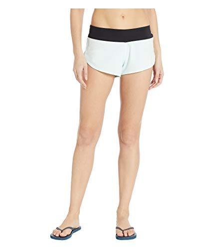 Nike Damen W Hrly Phntm Br Short Hose, Blaugrün, L (Nike Spandex Shorts Frauen Blau)
