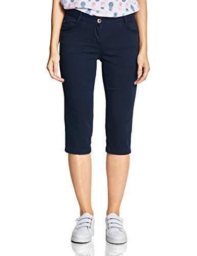 ictoria 3/4 Casual Fit Hose, deep Blue, W34(Herstellergröße:34) ()