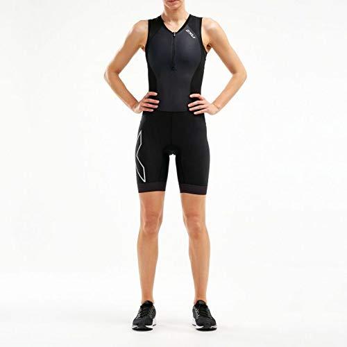 2XU UK Damen Kompressions-Triathlon-Anzug Wt5522d Tri-Anzug M schwarz/schwarz