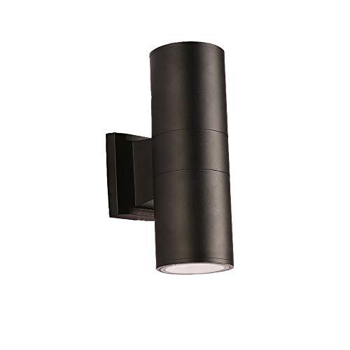 TMC Luz de Pared Lámpara de Pared/Hierro/Impermeable/Dormitorio Lámpara de Noche/Patio Exterior Jardín Doble Cabeza Luces de Pared (3 tamaños Disponibles) (tamaño : 30cm)