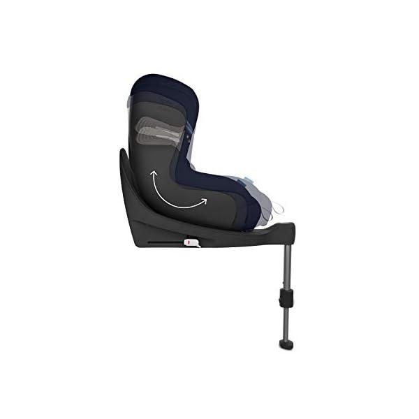 Cybex Sirona S i-Size Car Seat, Deep Black Cybex Cybex sirona s i-size car seat, deep black Item number: 520000513 Colour: deep black 5