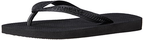 Havaianas Top, tongs mixte adulte - noir - noir, 37/38 EU (35/36 BR) EU