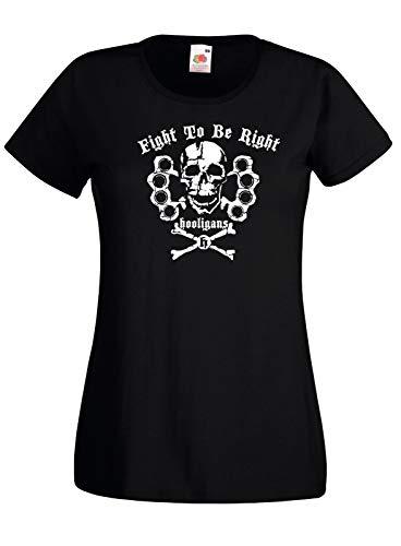 TYML Heißer Mode T-Shirt Hooligans Kampf Zu Werden Rechts Ultras T Hemd