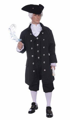 American Colonial Costume Fancy (Erwachsene Washington Für George Kostüme)