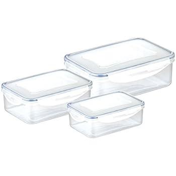 Transparente Tescoma Freshbox Contenitore Rettangolare Plastica