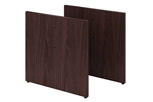 HON Vorsitz Tisch Top Panel-Basis Double Pack mahagoni