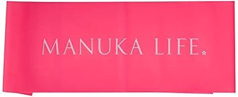 Manuka Life Unisex Resistance Eco Body Band, Coral, One Size