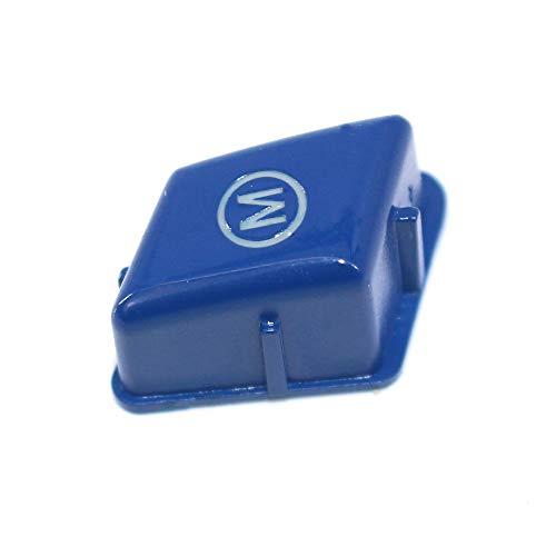 Bleu KKmoon Housse de Bouton pour Interrupteur de Voiture avec Volant de Sport pour BMW S/érie 3 E90 E92 E93 M3 2007-2013