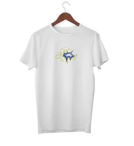 Fight Battle_KK017552 Shirt T-Shirt für Männer Herren Tshirt for Men Gift for Him Present Birthday Christmas - Men's - XL - White ()