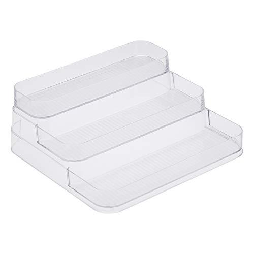 AmazonBasics Rangement en plastique à étages pour la cuisine